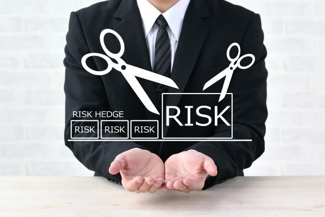 リスクマネジメントのプロセスイメージ